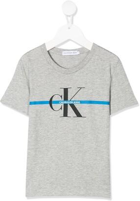 Calvin Klein Kids logo T-shirt