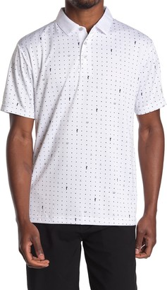 Jack Nicklaus Birdie Luxtouch Patterned Polo