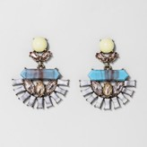 BaubleBar SUGARFIX by Mixed Media Bouquet Drop Earrings - Turquoise