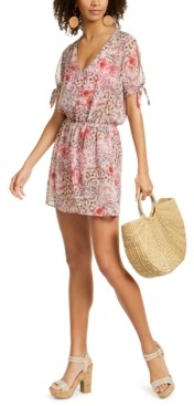 Soluna Savannah Printed Chiffon Tunic Cover-Up Women's Swimsuit