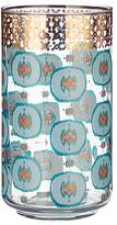 Anthropologie Haldon Dot Print Juice Glass, 384ml, Clear/Multi