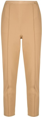 Elisabetta Franchi High-Waisted Tapered Trousers