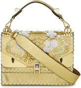 Fendi Kani I Special metallic leather shoulder bag