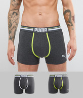 Puma 2 Pack Colour Contrast Boxers
