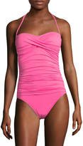 LaBlanca La Blanca Women's Island Bandeau One Piece Swimsuit