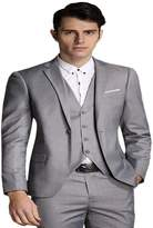 YFFUSHI Men's Modern Fit 3-Piece Single Breasted Suit Casual Stylish Suit in Many Colors