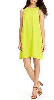 Lauren Ralph Lauren Crepe A-Line Dress