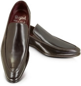 Fratelli Borgioli Cricket Shiny Brown Loafer