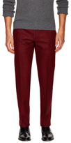 Christian Dior Printed Flat Front Trousers