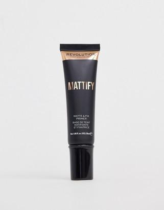 Revolution Matte & Fix Mattify Primer