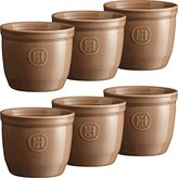 Emile Henry Ramekin No 8, Oak, 6-Piece