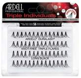 Ardell (6 Pack Triple Individuals Knot-Free Triple Flares - Long Black