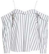 Leith Women's Stripe Off The Shoulder Top