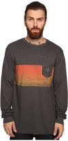 VISSLA Gradient Long Sleeve Pocket Crew