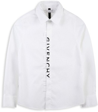 Givenchy Little Boy's & Boy's Logo Cotton Shirt