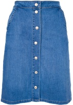 'Distille' denim skirt