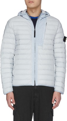 Stone Island Loom woven down stretch puffer jacket