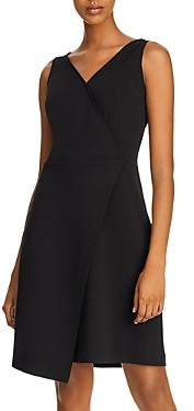 Nanette Lepore nanette Asymmetric Faux-Wrap Cocktail Dress