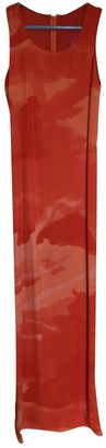 Christian Lacroix Red Cotton - elasthane Dress for Women Vintage