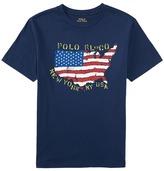 Polo Ralph Lauren 30/1 Graphic Tee (Big Kids)