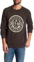 Obey Worldwide Dissent Long Sleeve Pullover