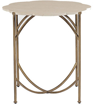 Gabby Gillian Side Table - Antiqued Gold