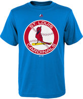 Majestic Boys' St. Louis Cardinals Coop Official Logo T-Shirt