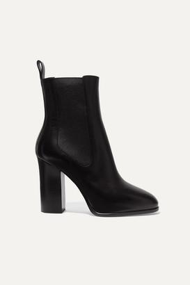 Dries Van Noten Leather Chelsea Boots - Black
