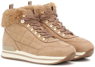 Hogan H222 nubuck sneakers