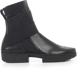 Trippen Ankle Boots W/side Elastic