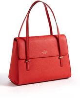 Kate Spade Cedar Street Luciana Crosshatched Leather Shoulder Bag