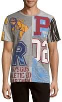 PRPS Printed Patchwork Crewneck T-Shirt