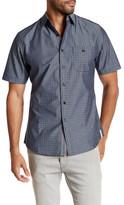 Smash Wear Short Sleeve Paisley Woven Shirt