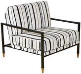 Selamat Sydney Club Chair - Ivory/Black Velvet