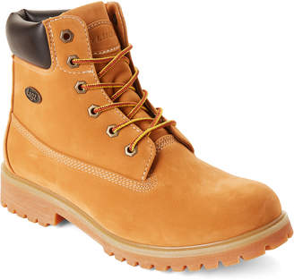 Lugz Golden Wheat Lace-Up Work Boots