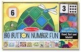 Melissa & Doug Toddler 'Big Button Number Fun' Board Game