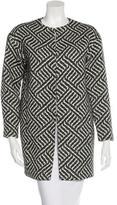 Alice + Olivia Tweed Pattern Coat