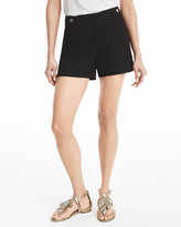 White House Black Market 5-inch Black Tab Waist Shorts