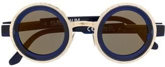 Kuboraum Colour Block Sunglasses