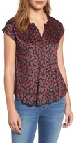 Velvet by Graham & Spencer Women's Print Woven Top