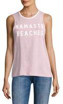 Spiritual Gangster Namaste Beaches Tank Top