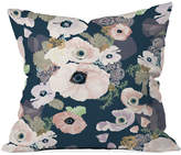 "Deny Designs Khristian A Howell Une Femme in Blue 16"" Square Decorative Pillow"