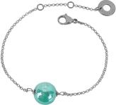 Antica Murrina Veneziana Perleadi Turquoise Murano Glass Bead Chain Bracelet