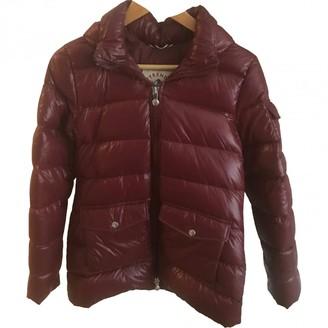 Pyrenex Burgundy Polyester Coats