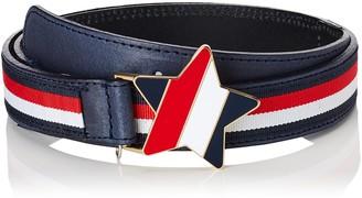 Tommy Hilfiger Girl's Star Plaque Belt