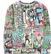 Little Eleven Paris Marvel sweatshirt