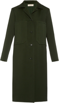 Nina Ricci Single-breasted double-faced coat