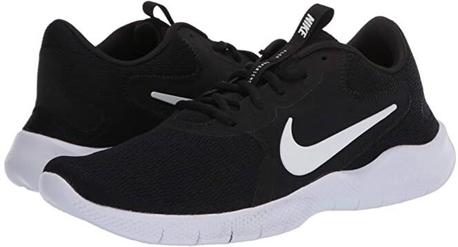 black nike flex women's shoes