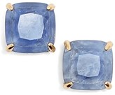 Kate Spade Women's Mini Small Square Semiprecious Stone Stud Earrings