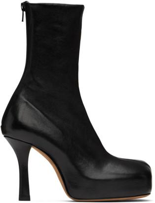 Bottega Veneta Black Nappa The Bold Boots